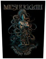 MESHUGGAH - Rückenaufnäher Backpatch Violent Sleep Of Reason