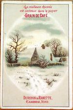 Coffee/Chicoree/Grain de Cafe 1890 Victorian Trade Card: Duroyon & Ramette - 1