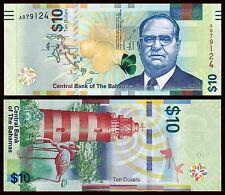 Bahamas   10 Dollars  2016  Pick 78   SC = UNC