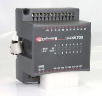 UNITRONICS IO-R08 Expansion Module 8 x relay 24vdc output 12//24vdc 250vac
