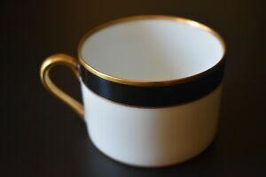 Fitz & Floyd, Inc. - Renaissance black, flat bottom cup
