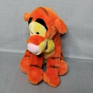 Walt Disney World Vintage Tigger Plush Animal ToyTiger Winnie Pooh 13 Inch Video