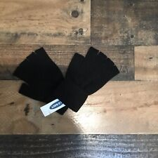 Adults Old Navy Winter Gloves Black Size S-M NWT Cutoff Fingers