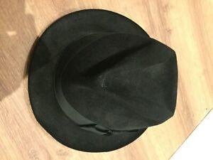 Christy's of London handmade men's black Trilby