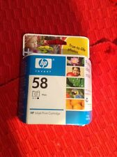 Genuine HP 58 Ink Cartridges Tri-Color Photo