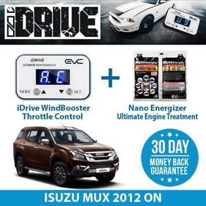 IDRIVE THROTTLE CONTROL FOR  ISUZU MUX 2012 ON + NANO ENERGIZER AIO