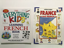 FRENCH Books: The Everything Kids' Learning French Book , Getting To Know France
