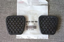 2x OEM Honda Brake & Clutch Pedal Pad Cover for Civic Del Sol CRX Integra