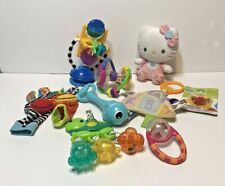 Lot of 10 Infant Baby Teethers Rattles Taggies Learning Development Toys