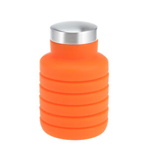 Water Bottle Retractable Folding 500ML Portable Silicone