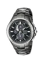 Seiko SSC377 Coutura Perpetual Solar Analog Mens Watch Stainless Steel 100m WR