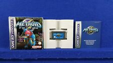 Gameboy Advance METROID FUSION BOXED & COMPLETE GBA PAL UK