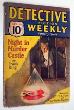 Detective Fiction Weekly, (Formerly Flynn's) Vol. LXVII, #2 April 30, 1939