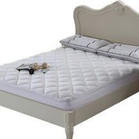 Cool & Plush 100% Bamboo Mattress Pad/Topper by Royal Hotel Collection