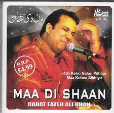 RAHAT FATEH ALI KHAN - MAA DI SHAAN - BRAND NEW CD