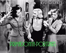"""LUCILLE BALL & GINGER ROGERS 8X10 Lab Photo 1937 """"STAGE DOOR"""" Movie Still"""