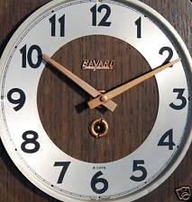 RARISSIMO orologio da parete  timone legno da arredo BAYARD 8 giorni d'epoca