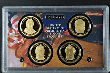 2009-S  PRESIDENTIAL PROOF SET (NO BOX or COA) 4 GEM Proof Coins