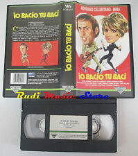 VHS ADRIANO CELENTANO MINA Io bacio tu baci 1961 FONIT CETRA FCEB9027 mc (VM9*)