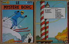 Lefranc  3. LE MYSTERE BORG  Casterman 1972