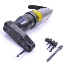 Jiffy Aircraft 2000 Sd2 14 28 Pneumatic Drill With 90 Pancake Attachment