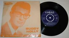 BUDDY HOLLY EP*IT DOESN'T MATTER ANY MORE*HEARTBEAT + 2*'59*CORAL 2032*R'n'R*VG+