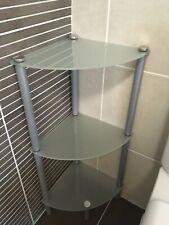 3 Tier Glass Storage Shelf