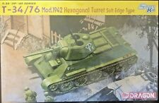 1/35 Soviet Russian T-34/76 Mod.1942 Hexagonal Turret - Dragon #6424