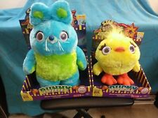 Brand New Toy Story Signature Collection Deluxe Talking Plush Bunny & Ducky Set