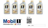 5 Litri olio motore totalmente sintetico Mobil 0W40 Benzina & Diesel