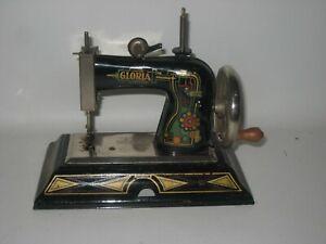 "US Zone Germany Casige ""Gloria"" Child's Sewing Machine 1060 Works Well #DE7"