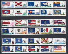 US 2008-09 NH Flags of Our Nation 4273-4302 #1 #2 #3 Strips of 5 -Free USA Ship