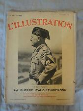 L'Illustration - 12 Octobre 1935