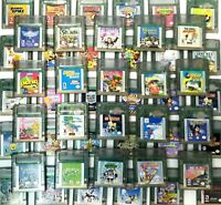 Nintendo Game Boy Color Games GBA, GBA SP, Multiple titles, Tested and Working!