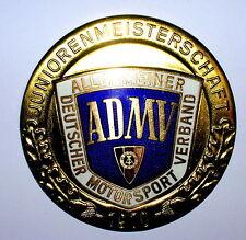Plakette ADMV Juniorenmeisterschaft DDR 1970 Gold