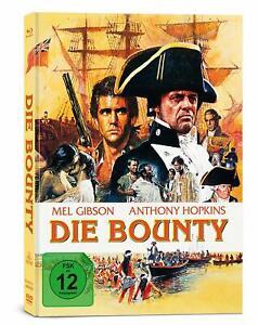 Die Bounty  [Blu-ray + DVD Limited Mediabook/NEU/OVP] Anthony Hopkins, Mel Gibso