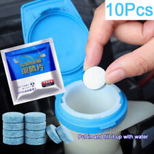 10PCS Window Car Windshield Solid Cleaning Liplsating Effervescent Tablet wiper