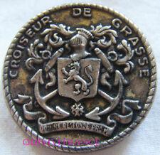 IN9247 - Insigne DE GRASSE, Croiseur, rondache 31 mm, métal léger