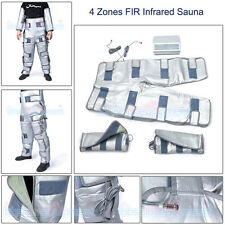 4 Zones FIR Infrared Sauna Heating Fitness Suit Health Detox Weight Loss Machine