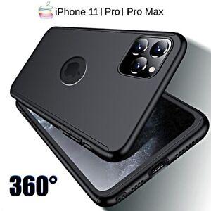 COVER per Iphone 11 / Pro Max Fronte Retro 360° + PELLICOLA VETRO TEMPERATO 9H
