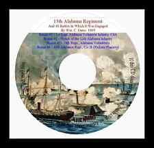 Alabama Civil War Regiments + Six Books
