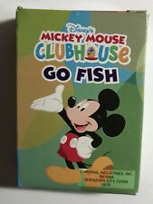 "Disney Mickey Mouse Clubhouse ""Go Fish"" game (miniature)"