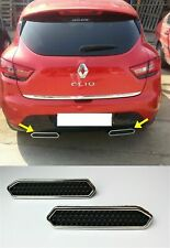 2012-2018 Renault CLIO IV 4 HB Abs Chrome Exhaust Deflector Frame 4Pieces