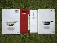Yohji Yamamoto parfums - lot of 3 perfume ads Russian magazine Homme Essential