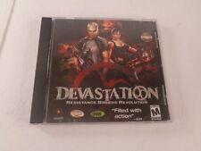 Devastation PC Video Game 2003 Disc Case CD Key Mature Shooter