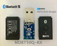 Nordic nRF52840 USB Dongle BT 5.0 BLE Raytac MDBT50Q-RX Bluetooth Long Range