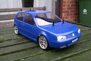 Kamtec Golf MK4 V5 GTi 1:10 RC Car Body shell + Decal £20.48 Tamiya repro LEXAN