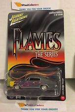 1966 Dodge Charger * Johnny Lightning FLAMES Series * Hobby Only * H58