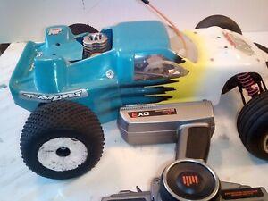 team losi xxxnt nitro race truck W/ Team Orion Engine- Bump start required.
