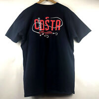Costa Del Mar Mens Short Sleeve Price Lure T-Shirt Size 2XL 100% Cotton $26